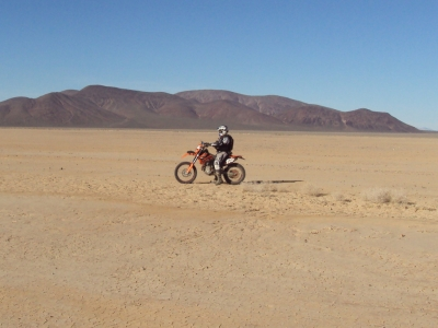 Jim thinking - How fast should I go on the lake bed?